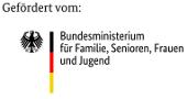 Logo des Bundesministerium für Familie, Senioren, Frauen und Jugend