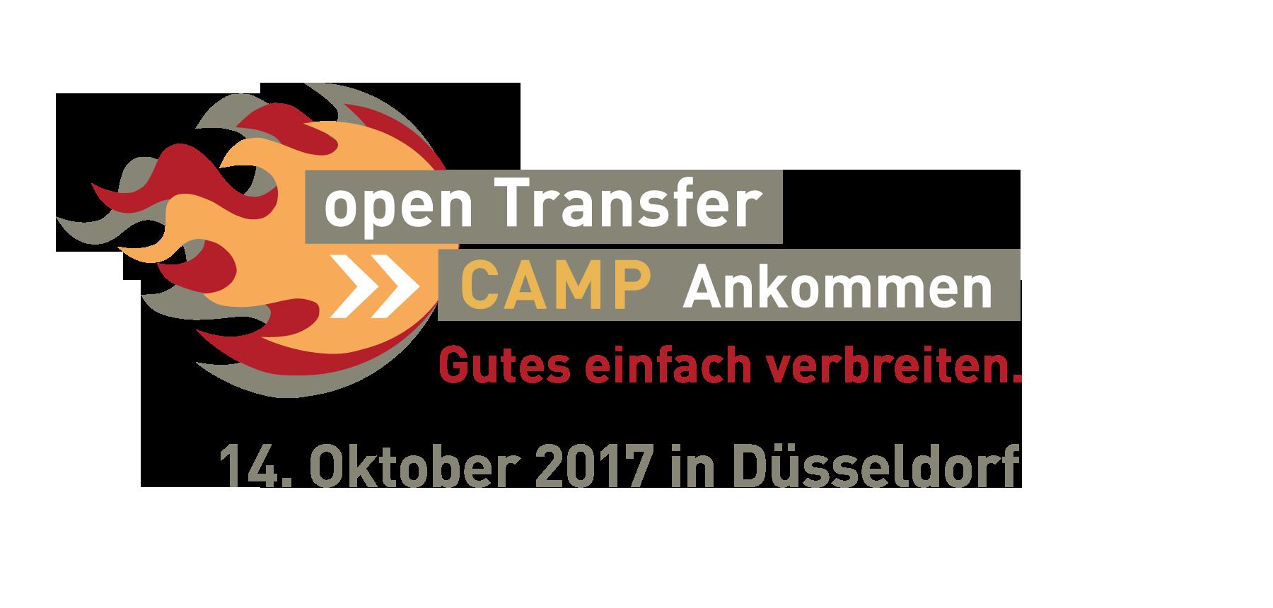 Jetzt Anmelden zum openTransfer CAMP #Ankommen