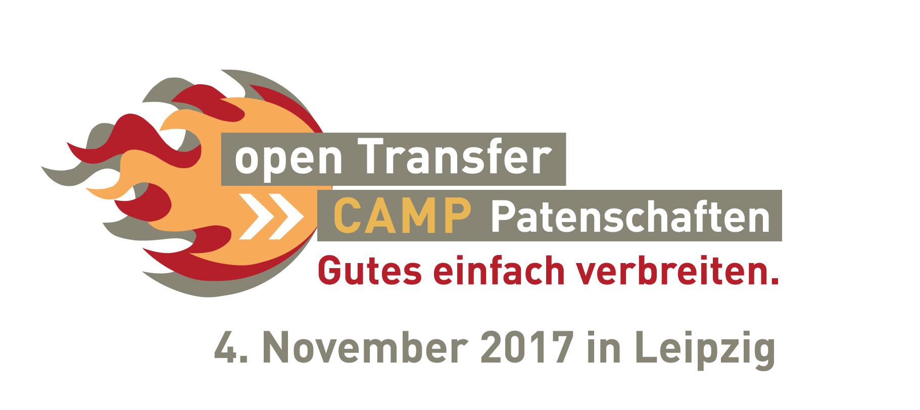 Jetzt Anmelden zum openTransfer CAMP #Patenschaften