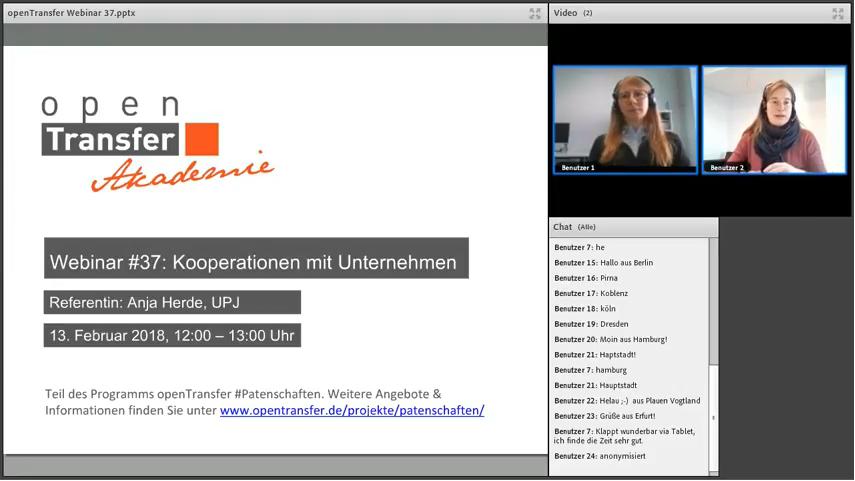 Vorschaubild auf das Webinar mit Anja Herde