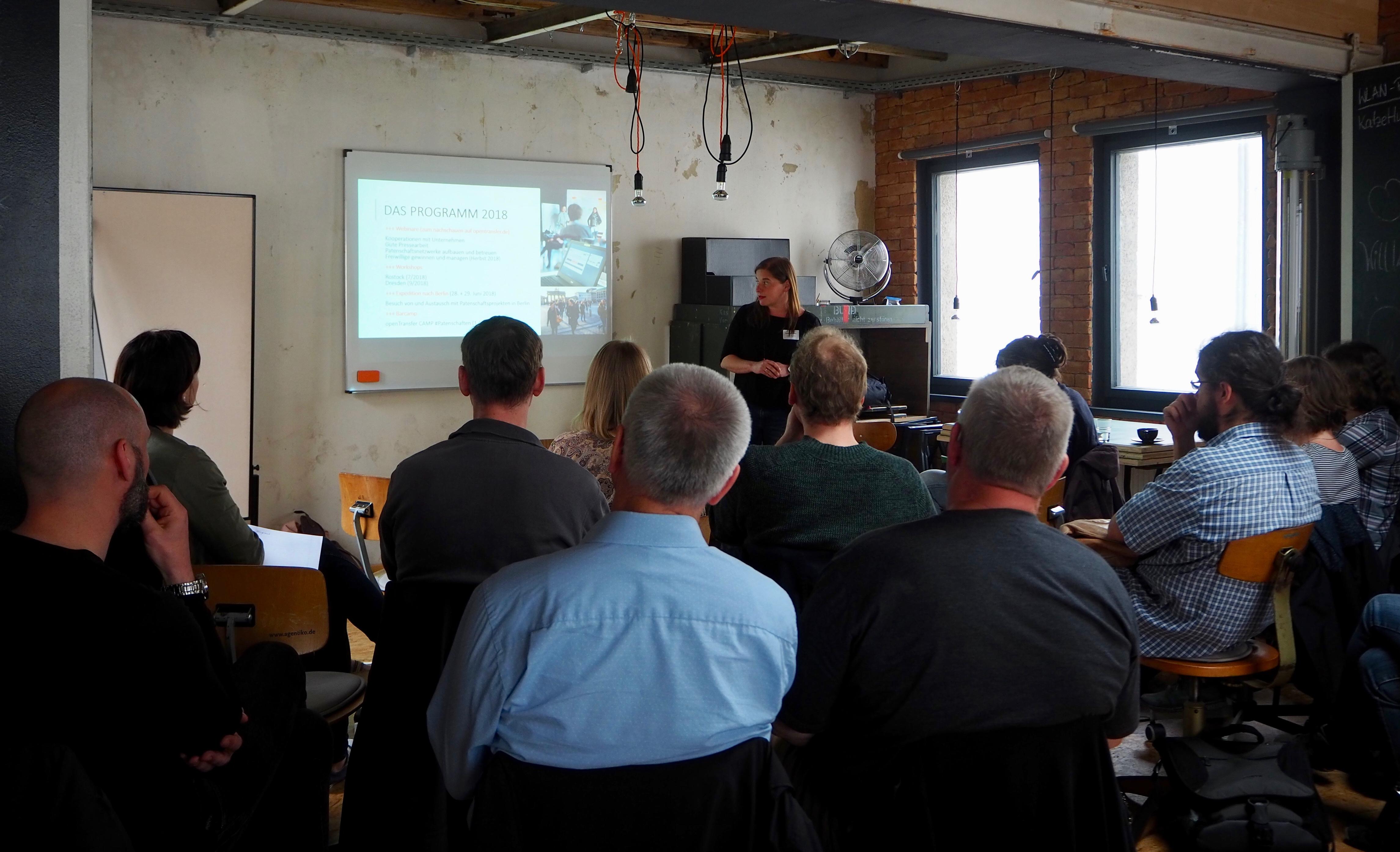 Foto des openTransfer Workshops