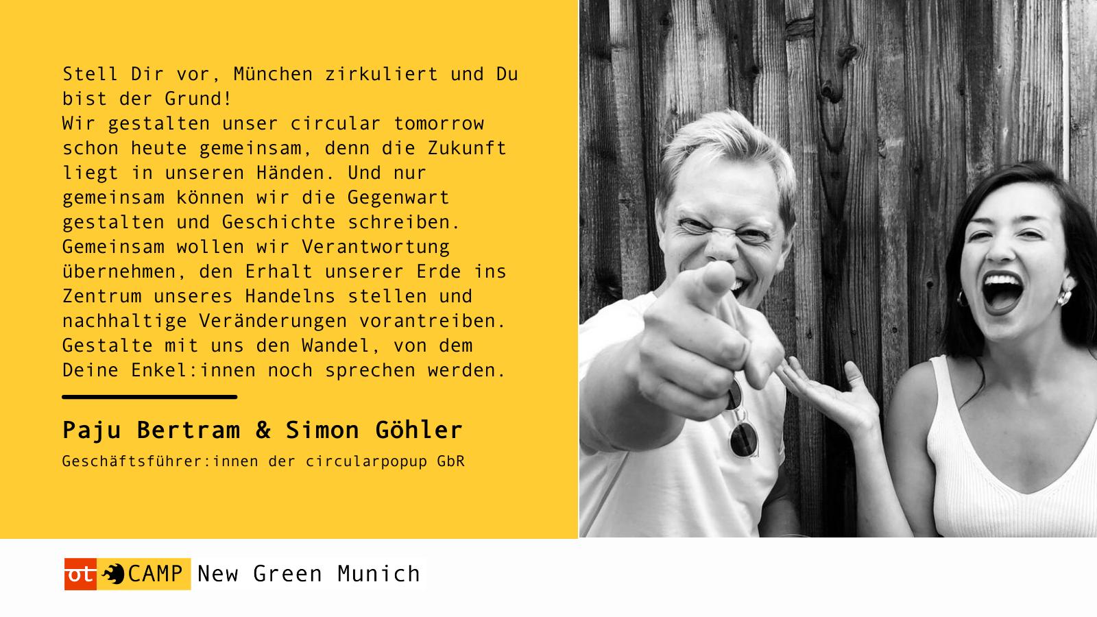 Testimonial von Paju Bertram & Simon Göhler